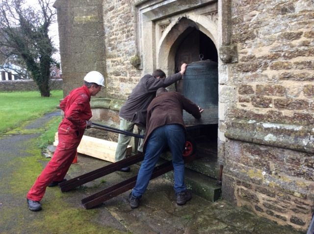 Removal of Bells from the Church